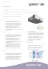 Ficha técnica de recuperadores de calor - Air Komfort ERV EC DB S14