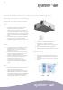 Ficha Técnica de recuperadores de calor - Air Komfort ERV D S20