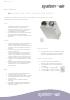 Ficha técnica de recuperador de calor - Air Komfort Ultra D105