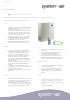 Ficha técnica unidad de ventilación - Air Freshbox E120