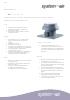 Ficha técnica de extractores axiales de tejado - Air Tower-AL