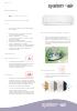 Ficha técnica de aire acondicionado de Omnia Eco