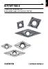 MP/MT9000 - Placas de torneado ISO para materiales difíciles de cortar