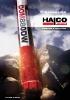 Martillos en fondo para perforación - Catálogo general Halco Rock Tools