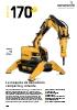 Robot de demolición Brokk 170