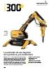 Robot de demolición Brokk 300