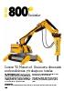 Robot de demolición Brokk 800S