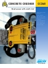 Hoja de producto cizalla para hormigón CC260 (ENG)