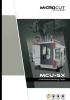 Centros de mecanizado vertical 5 ejes MICROCUT Serie MCU-5X