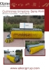 Barredoras de cucharón reforzadas - serie MVR - cubierta abierta