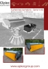 Barredoras de cucharón reforzadas hidráulicas - serie V-HD - cubierta abierta