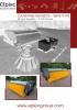 Barredoras de cucharón reforzadas - serie V-HD - cubierta abierta