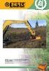 Desbrozadoras - Trituradoras hidráulicas Berti - en punta de retro - serie RA/SB