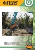 Trituradoras forestales Berti - en punta de retro - serie TFX/SB