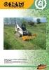 Desbrozadoras - Trituradoras frontales hidráulicas Berti - serie AF/SSL