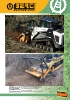 Trituradoras frontales forestales Berti - serie MD/SSL