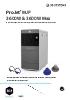 Impresoras 3D ProJet MJP 3600W & 3600W Max (EN)