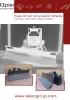 Hojas tiltdozer - angulación horizontal y vertical hidráulicas