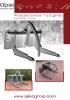 Pinzas frontales para troncos 1-2 garras - minicargadoras