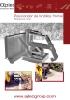 Posicionador de bordillos frontal - minicargadoras