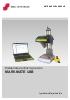 Máquina de Micropunción de puesto fijo Markmate USB