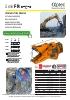 Demoledores secundarios - Pulverizadores de demolición - serie FR - multiplicador de potencia - rotación 360º