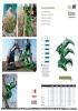 Pinzas para la tala y corte de troncos, ramas y arbustos - serie WT - rotación 360º