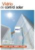 Vidrios de control solar - Stopray / Ipasol / Sunergy / Stopsol