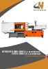 Inyectoras servohidráulicas de 88 hasta 668 tn JETMASTER MK6 + JETMASTER SPEED