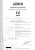Certificado de conformidad - Equipos de protección individual Aenor