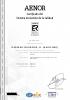 Certificado del sistema de gestión de la calidad Aenor