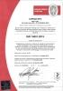 Certificado Caprari Italia ISO 14001 SDG Ambiental