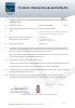 Notificación de garantía de calidad de producción
