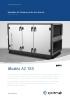 Unidades de tratamiento de aire Geniox / Aluzinc AZ 185
