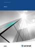 Unidades de tratamiento de aire / Geniox / Guía rápida