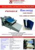 PENDIX. Encoladora para flyleaf automática