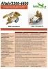 Pulverizadores arrastrados Altair/3300-4400