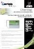 Sistema de filtración para armarios de seguridad Chemtrap
