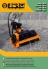Desbrozadoras - Trituradoras hidráulicas Berti - en punta de retro - series CKT/SB - PARK/SB - RA/SB - LAND/SB