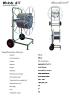 Recogedor manual de cinta de riego por goteo G1T