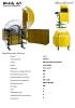 Recogedor hidráulico de cinta de riego por goteo - G2T
