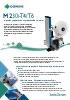 Impresión y aplicación de etiquetas flexible y modular Serie M de Domino
