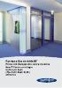 Puertas y fijos de vidrio RF, protección transparente contra incendios