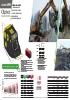 Cazos retro - triturar materiales hidráulicos