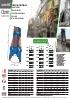 Demoledores primarios - Pinzas de demolición hidráulicas - serie HC - rotación 360º