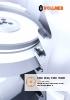 Afiladoras de sierras circulares CHX 840 y CHX 1300