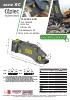 Cizallas hidráulicas para cortar railes - serie RC - rotación 360º