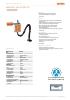 Sistemas de aspiración fijos MaxiFil fijo - Ref.: 65 850 100