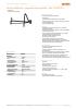 Set de ventilación - pescante de dos piezas - Ref.: 79 409 201