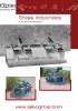 Grapas frontales industriales reforzadas - 2 cilindros - serie HD